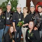 2014 Vorstandschaft mit Prinzenpaar
